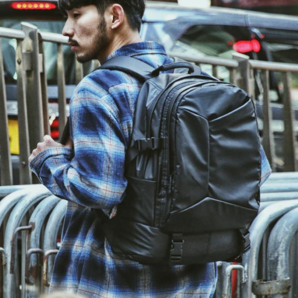 [몬스터리퍼블릭][사은품 키링 증정/구매후기 지갑증정] SHIZZLE LAPTOP BACKPACK / MATT BLACK 백팩 가방
