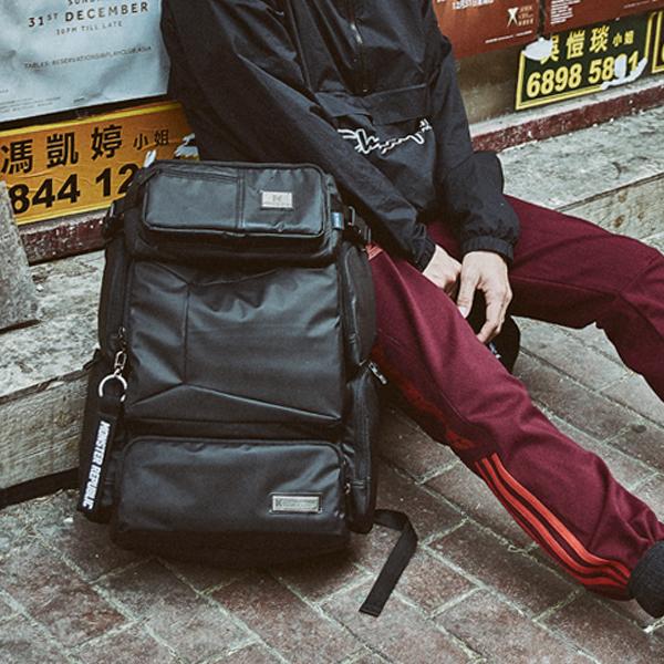 [몬스터리퍼블릭][사은품 키링 증정/구매후기 지갑증정] DIFFERESSIVE REWIND MULTI BAG / MATT BLACK 백팩 가방