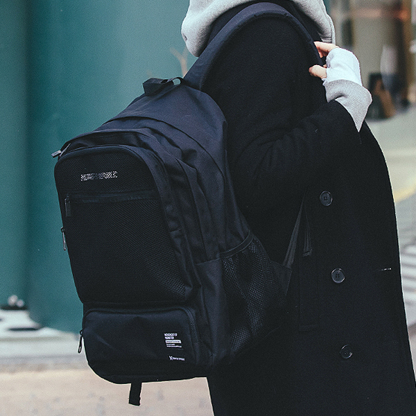 [단독판매][구매후기 지갑증정] VECTOR DAYPACK / BALCK 백팩 가방