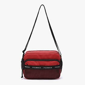 [피스메이커]PIECE MAKER - REPLAY CROSS BAG (RED) 크로스백 가방