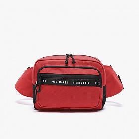 [피스메이커]PIECE MAKER - REPLAY WAIST BAG (RED) 힙색 웨이스트백