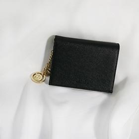 [디랩]D.LAB Minette Half Wallet - Black 지갑
