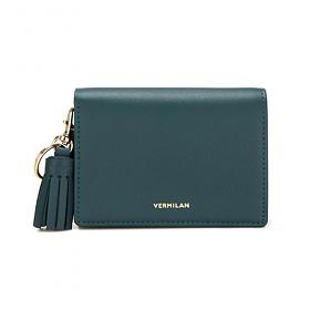 [버밀란] - VERMILAN 플랩 지갑 - 그린