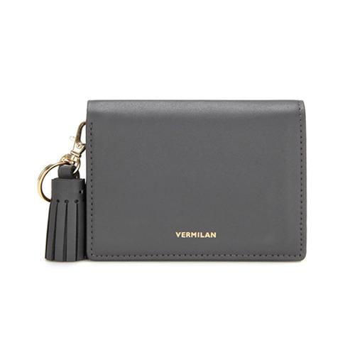 [버밀란] - VERMILAN 플랩 지갑 - 그레이