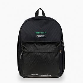 [아임낫어휴먼비잉] IMXHB TECH PACK-1 BLACK 테크 백팩 학생가방