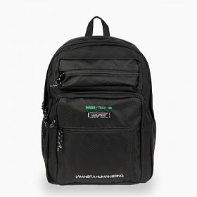 [아임낫어휴먼비잉] IMXHB TECH PACK-0 BLACK 테크 백팩 학생가방