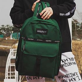 [아임낫어휴먼비잉] 2018 DAYPACK D GREEN 데이백 데이백팩 학생가방