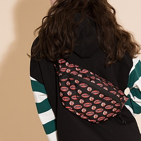 [모티브스트릿] MOTIVESTREET PATTERN WAISTBAG BASKETBALL PAT 웨이스트백 힙색