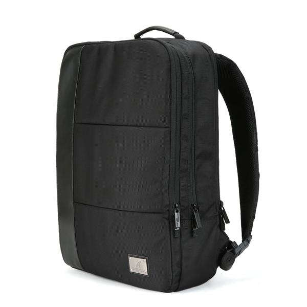[몬스터리퍼블릭][사은품 키링 증정/구매후기 지갑증정] EFFECT SMART BACKPACK / BLACK 스퀘어 백팩