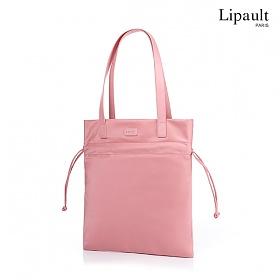 리뽀 LIPAULT 숄더백 PLUME BASIC FLAT BUCKET BAG - BIMAT AZALEA PINK AZ070015