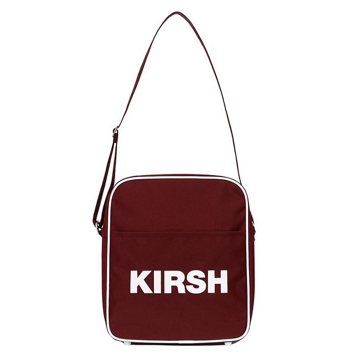 [키르시포켓] KIRSH POCKET 에어라인 백 HS [레드] 에나멜 크로스백