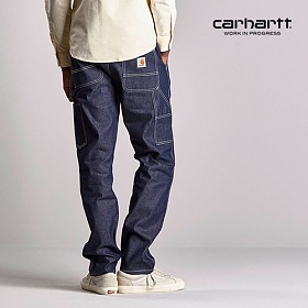 [칼하트WIP] CARHARTT WIP - Ruck Single Knee Pant (Blue Rigid) 럭 싱글니 워크팬츠 팬츠