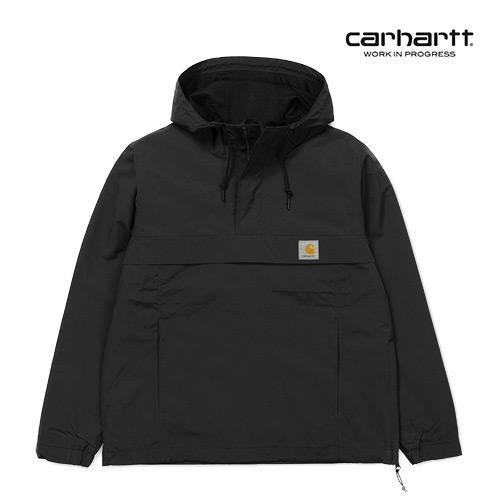[칼하트WIP] CARHARTT WIP - Nimbus Pullover (Summer) (Black) 님버스 풀오버 아노락 자켓