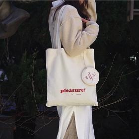 [아틱머메이드] Fruits Pleasure Bag 프룻플레져 백 (파우치 포함) 에코백