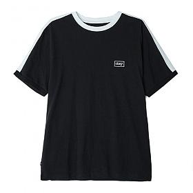 ※[오베이]OBEY - BORSTAL BOX TEE (BLACK) 사이드라인 반팔티 티셔츠