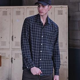 밴웍스 제라드 체크 셔츠 (VNAHSH002)