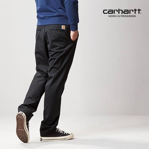 ※[칼하트WIP] CARHARTT WIP - Master Pant (Black) 마스터 치노팬츠 팬츠