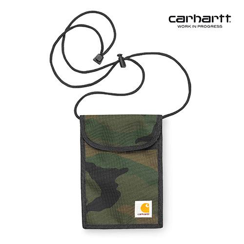 [칼하트WIP] CARHARTT WIP - Collins Neck Pouch (Camo Combat Green) 넥 파우치 사코슈