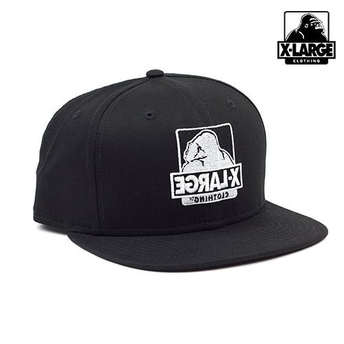 [엑스라지]XLARGE - FLIPSIDE NEW ERA HAT (BLACK) 고릴라 로고 뉴에라 스냅백 모자