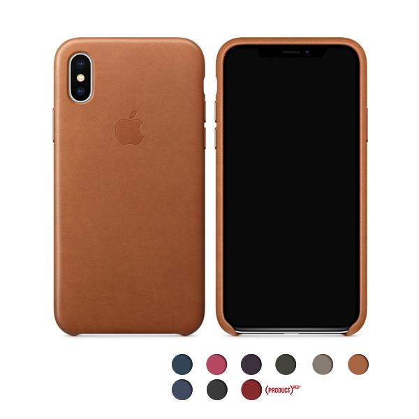 [APPLE 정품] 아이폰 x 가죽 케이스 - iPhone x Leather Case