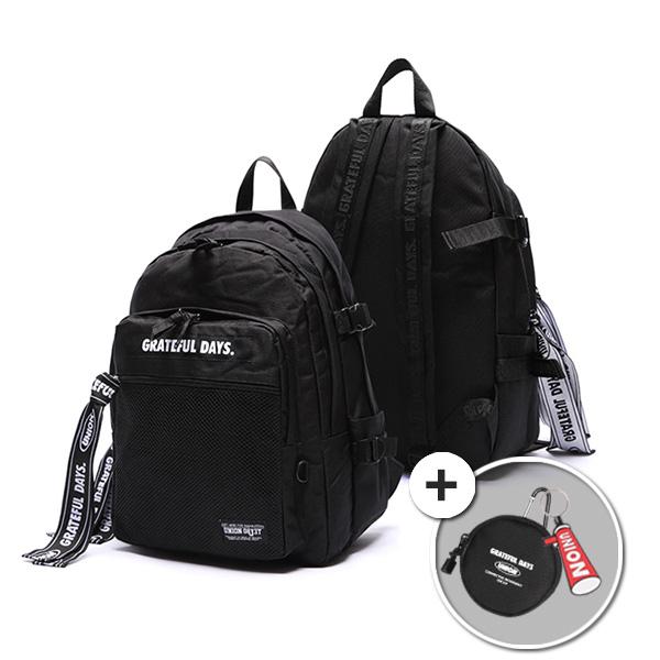 [유니온오브제]3D MESH BACKPACK M03 (BLACK BLACK) 백팩 가방