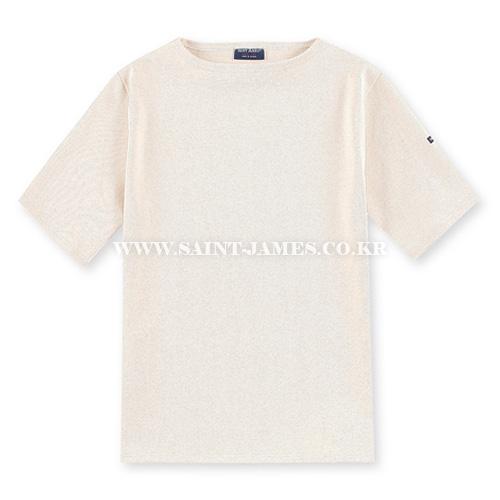 [세인트제임스]SAINT JAMES - 본사 남여공용 GUILDO U MC (Ecru) 웨쌍 길도 무지 반팔 티셔츠