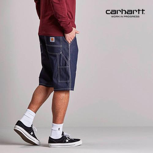 칼하트WIP Ruck Single Knee Short (Blue rigid)