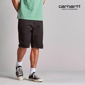 [칼하트WIP] CARHARTT WIP - Ruck Single Knee Short (Black) 럭 싱글니 반바지 숏팬츠