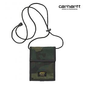 [칼하트WIP] CARHARTT WIP - Military Neck Pouch (Camo Combat Green) 밀리터리 넥 파우치 사코슈