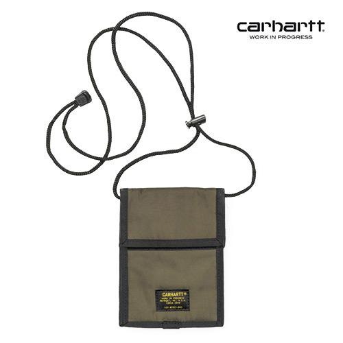 [칼하트WIP] CARHARTT WIP - Military Neck Pouch (Tundra) 밀리터리 넥 파우치 사코슈