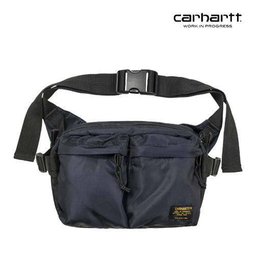 [칼하트WIP] CARHARTT WIP - Military Hip Bag (Dark Navy / Black) 밀리터리 힙색 웨이스트백 가방