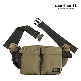 [칼하트WIP] CARHARTT WIP - Military Hip Bag (Tundra / Mirage) 밀리터리 힙색 웨이스트백 가방
