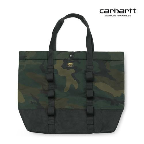 [칼하트WIP] CARHARTT WIP - Military Shopper (Camo Combat Green / Black) 밀리터리 쇼퍼백 토트백 가방