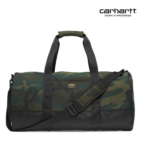 [칼하트WIP] CARHARTT WIP - Military Duffle (Camo Combat Green / Black) 밀리터리 여행가방 더플백  가방