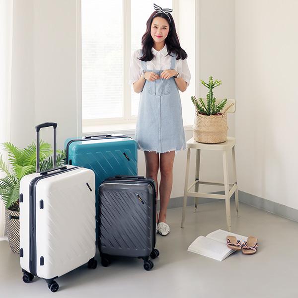 [유랑스]U011 24인치 여행가방 여행용 수화물용 하드 캐리어