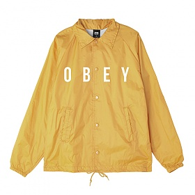 [오베이]OBEY - ANYWAY JACKET LIGHT SHORT (YELLOW) 코치자켓 자켓