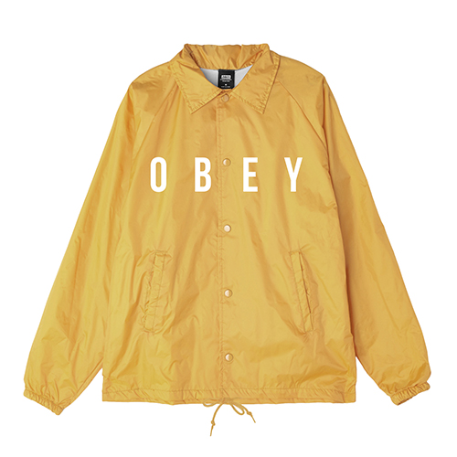 오베이 ANYWAY JACKET LIGHT SHORT (YELLOW) 코치자켓