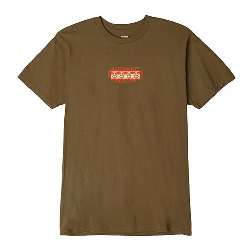 [오베이]OBEY - ALTERNATE REALITY T-SHIRT S/S (TAPENADE) 반팔티 티셔츠