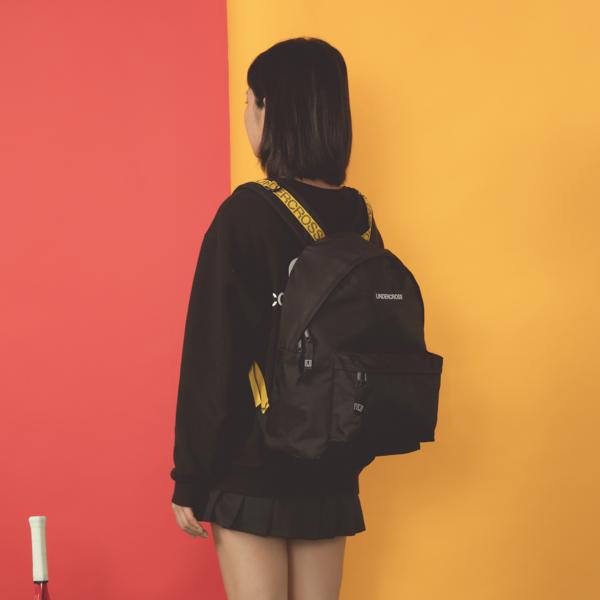 [파우치+키링증정][언더크로스]UNDERCROSS 노바 백팩 블랙 데이백
