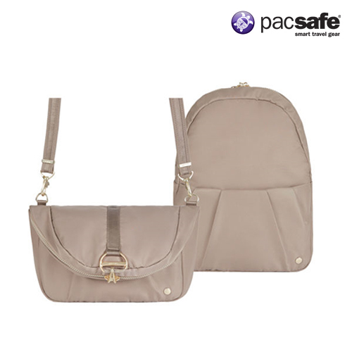 [팩세이프]PACSAFE - Citysafe CX Covertible Backpack Blush Tan 공식수입정품 (도난방지 여행용 백팩 크로스백)