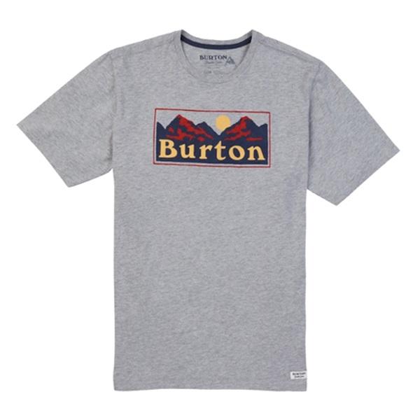[버튼]BURTON - RALLEYE SHORT SLEEVE T SHIRT (Gray Heather) 버튼코리아 정품