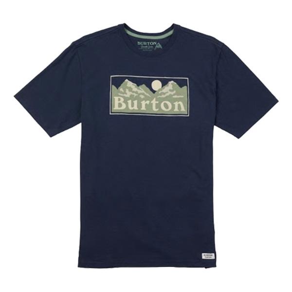 [버튼]BURTON - RALLEYE SHORT SLEEVE T SHIRT  (Mood Indigo) 버튼코리아 정품