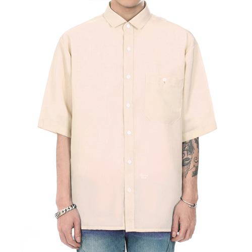 [쟈니웨스트] JHONNYWEST - CXL Summer Shirt (Luxo Beige) 반팔셔츠 남방