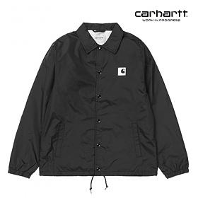 [칼하트WIP] CARHARTT WIP - Sports Coach Jacket (Black / Wax) 코치자켓 자켓