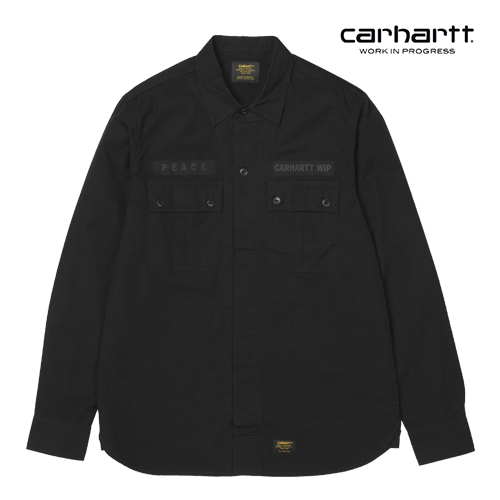 칼하트WIP L/S Memories Shirt (Black)