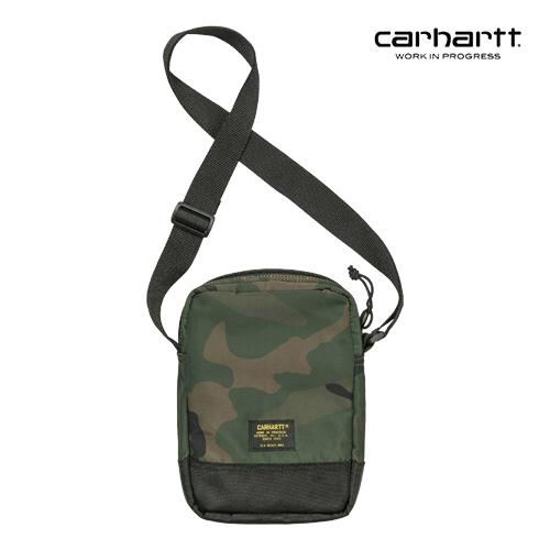 [칼하트WIP] CARHARTT WIP - Military Shoulder Bag (Camo Combat Green / Black) 밀리터리 숄더백 미니 크로