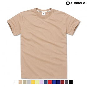 [앨빈클로]ALVINCLO AST_3333BE 무지 반팔 티셔츠 낱개 상품