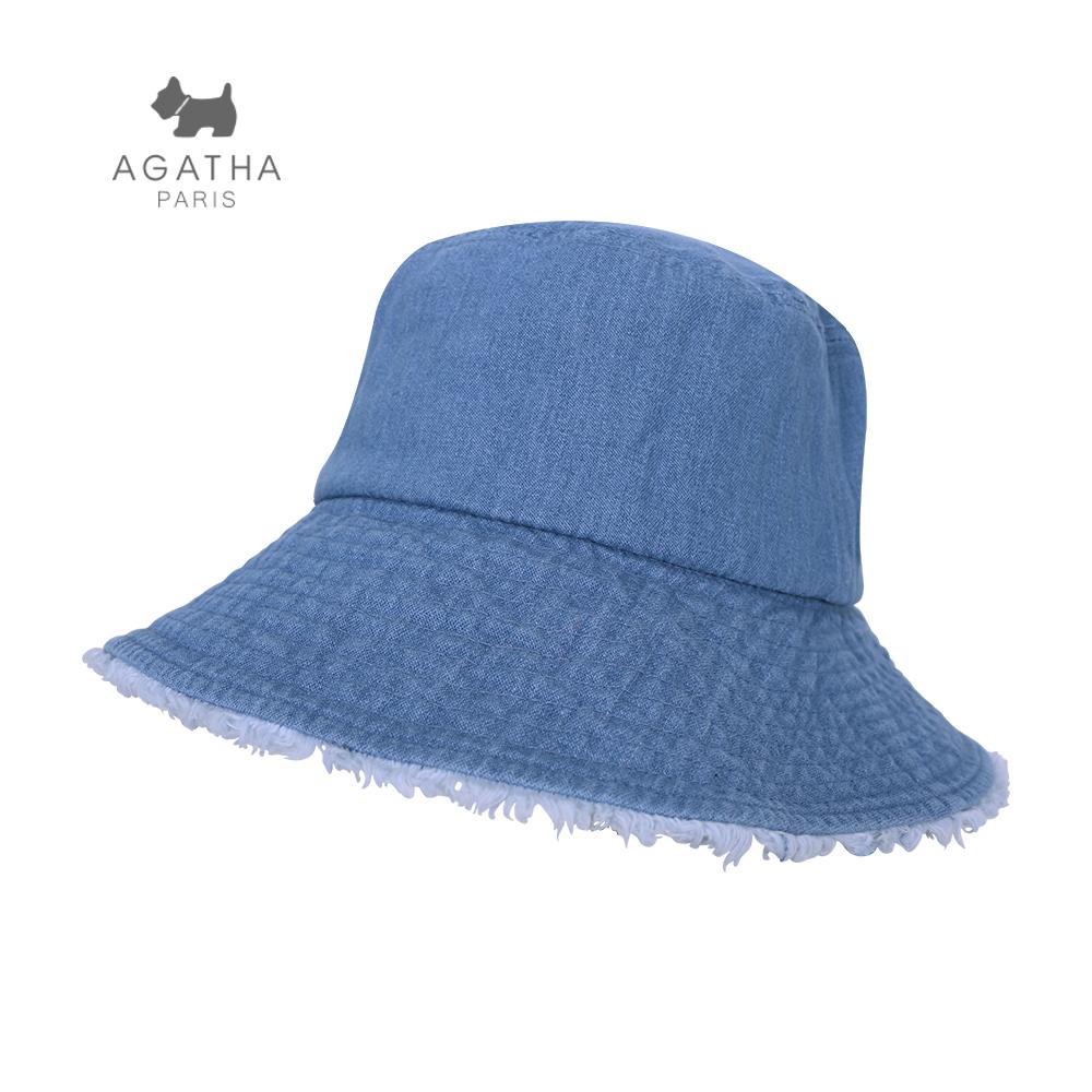 캡텐 - 아가타 베이직 포인트 벙거지 LIGHT BLUE(LL57)