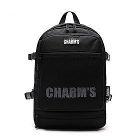 [참스] CHARMS L3 Mesh city bag BLACK 메쉬 시티 백팩 메쉬백팩 망사백팩 학생가방