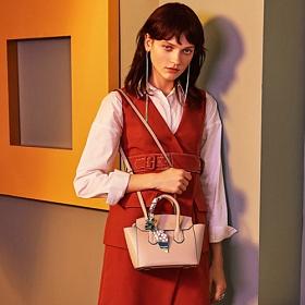 라페스틴 - Pint Scarves Bag (2color) 미니백 크로스백 [B#LF012]